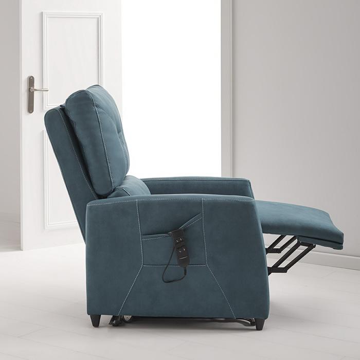 Sill n relax reclinable el ctrico con sistema power lift for Sillon relax con ruedas